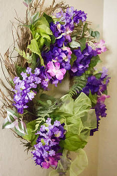 Flower Wreath by Photographic Art by Russel Ray Photos