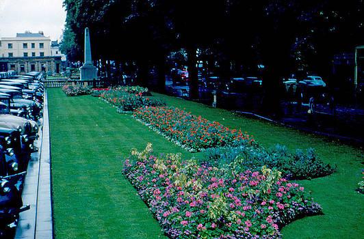 Flowered Parking 1953 by Cumberland Warden