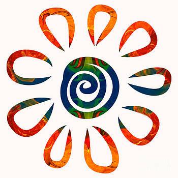 Omaste Witkowski - Flowering Abstract Colors by Omaste Witkowski