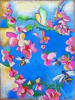 Flowers and Bees by Steve Emery