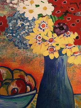 Nikki Dalton - Flowers and Oranges
