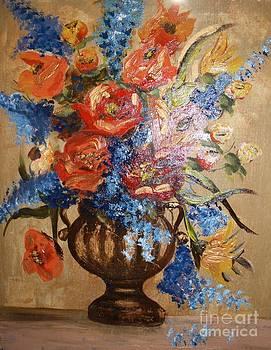 Flowers bluebels by Bozena Chmielewska