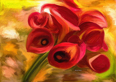 Flowers for My MOther by Angela A Stanton