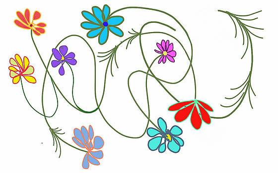 DENNY CASTO - Flowers having fun