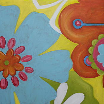 Flowers I by Dee Cunningham