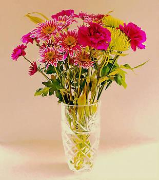 Bishopston Fine Art - Flowers in a Crystal Vase