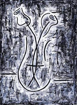 Kamil Swiatek - Flowers in a Vase