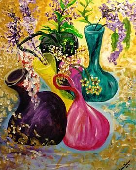 Flowers in Motion by Melanie Wadman
