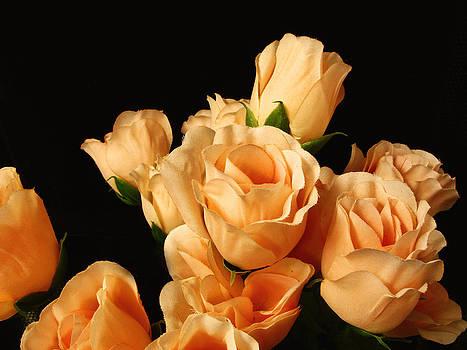 Flowers in Mourning by Oscar Alvarez Jr