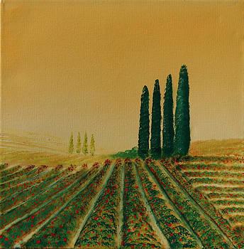 David Kacey - Flowers in the Fields