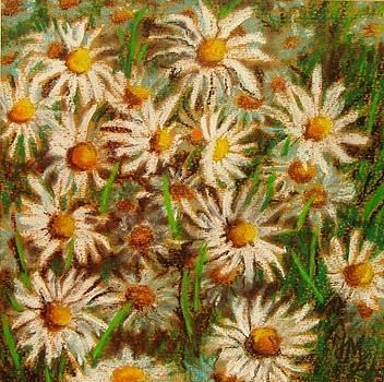 Flowers in the garden 2 by Nina Mitkova
