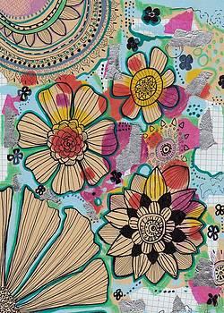 Flowers in the sky by Rosalina Bojadschijew