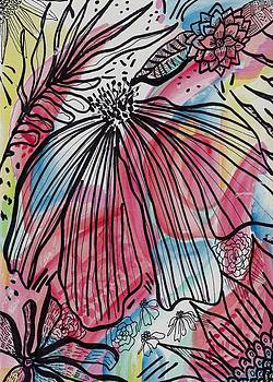 Flowers in the Wind by Rosalina Bojadschijew