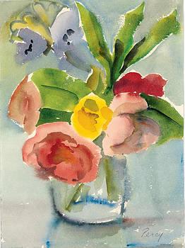 Flowers in Vase by Pat Percy