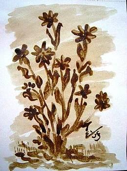 Flowers by Mona  Bernhardt-Lorinczi