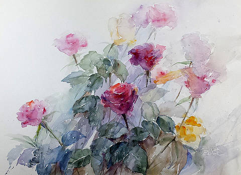 Flowers No.3 by Loc Bui