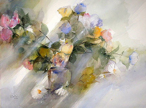 Flowers No.7 by Loc Bui
