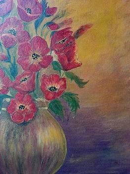 Flowers  by Noor Moghrabi