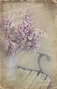 Svetlana Sewell - Flowers on a Bench