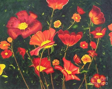 Flowers by Vikki Angel