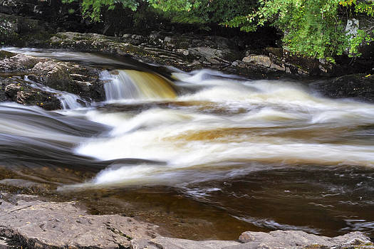 Jason Politte - Flowing and Cascading at the Falls of Dochart - Killin Scotland