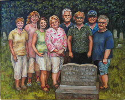Floyd Family Cousin's Portrait by Karen McKean