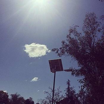 Fluffy #cloud #sun Burst #skies by Ann Marie Donahue