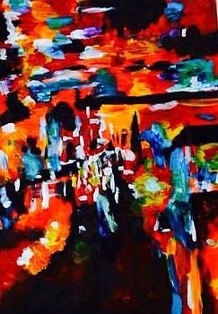 Fluorescent Fires   by Joanna Georghadjis