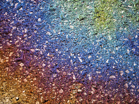 Fluorescent Pavement  2 by Rob Huntley