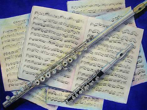 Flute and Piccolo by Michelle Skinner