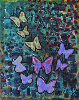 Donna Blackhall - Fluttering Between Light and Shadow