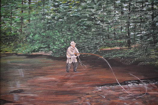 Fly Fishing by Debbie Baker