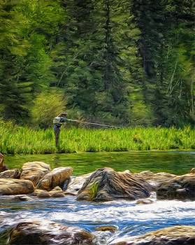 Ray Van Gundy - Fly Fishing in Spearfish Canyon