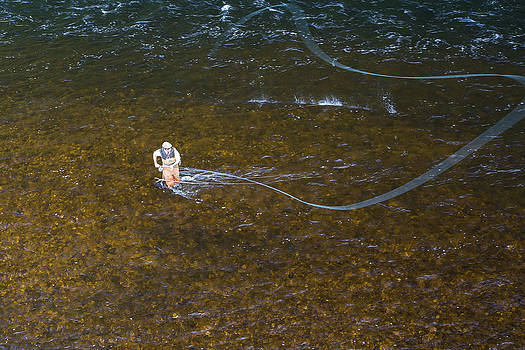 Fly Fishing on the River Spey by David Pilasky