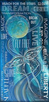 Fly Free Wordart by Reina Cottier