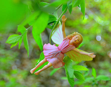 Linda Rae Cuthbertson - Flying - Woodland Fairies