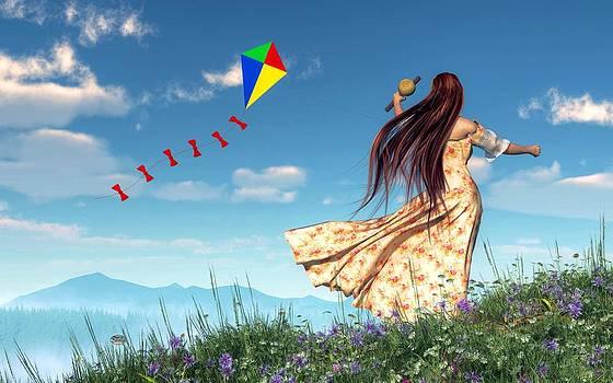Daniel Eskridge - Flying a Kite