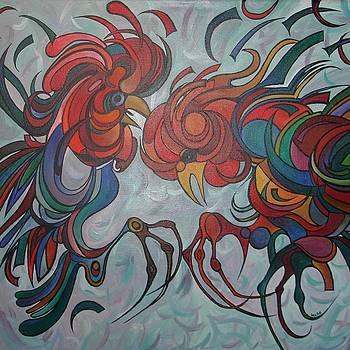 Tracey Harrington-Simpson - Flying Feathers