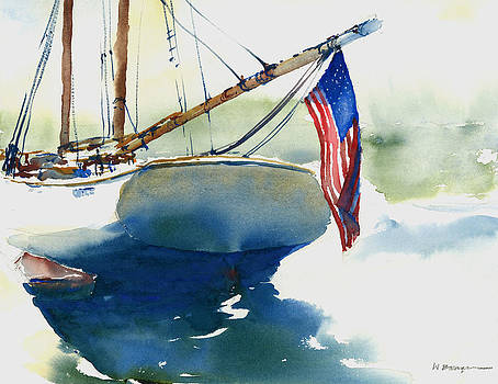 Flying Her Colors by William Beaupre