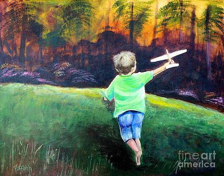 Flying high by Patricia Piffath