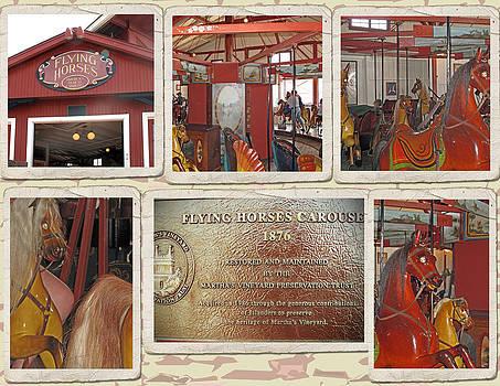 Barbara McDevitt - Flying Horse Collage
