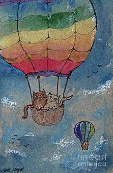 Angel  Tarantella - flying together