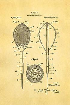 Ian Monk - Flynn Merion Golf Club Wicker Baskets Patent Art 1916