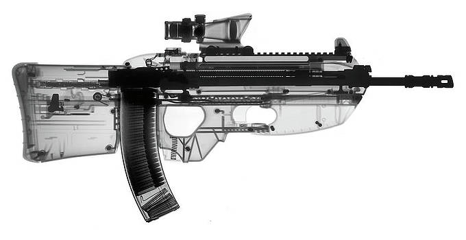 FN FS 2000 X-Ray Photograph by Ray Gunz