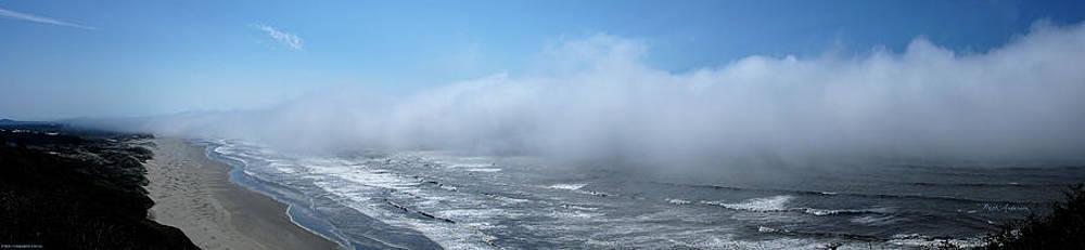 Mick Anderson - Fog Advances on the Oregon Coast