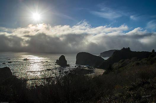 Mick Anderson - Fog and Sun on the Oregon Coast