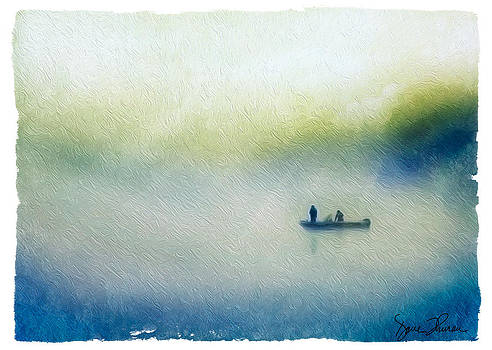 Fog Fishing by David Thurau