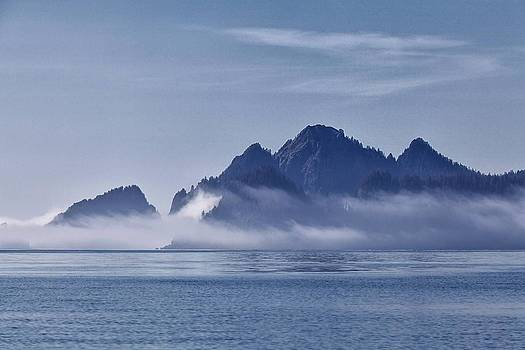 Fog in the Kenai by Daniel Sands