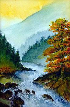 Fog in the Mountains by Catherine Jeffrey