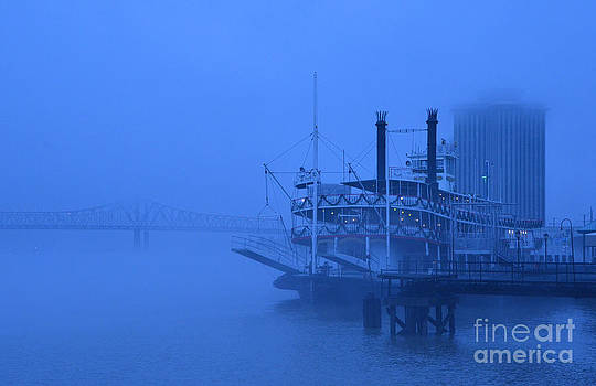 Fog on the Mississippi by Jeanne  Woods
